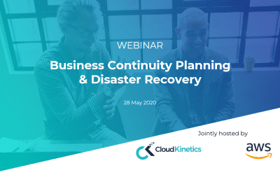 Business Continuity & Disaster Recovery – Webinar