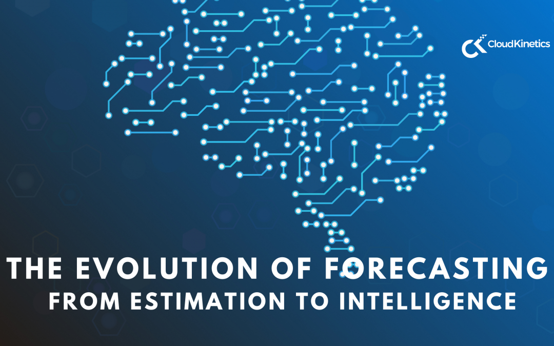 The Evolution of Forecasting – from Estimation to AI