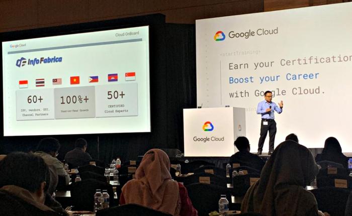 Google Cloud Onboard 2019
