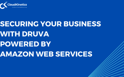 Securing Your Business with Druva, Powered by Amazon Web Services